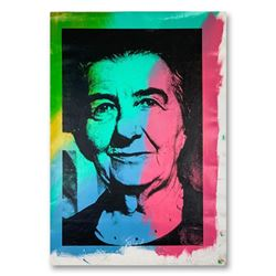 """Steve Kaufman (1960-2010), """"Golda Meir"""" Hand Signed and Numbered Limited Edition Hand Pulled silkscr"""