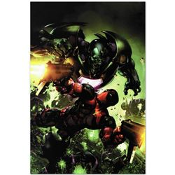 """Marvel Comics """"Deadpool #3"""" Numbered Limited Edition Giclee on Canvas by Clayton Crain with COA."""