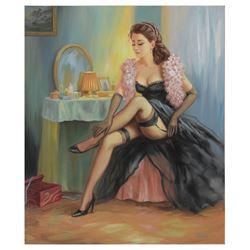 "Taras Sidan- Original Oil on Canvas ""Melissa"""