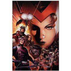"Marvel Comics ""Avengers: The Children's Crusade #6"" Numbered Limited Edition Giclee on Canvas by Jim"