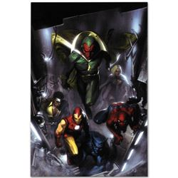 "Marvel Comics ""Secret Invasion #2"" Extremely Numbered Limited Edition Giclee on Canvas by Gabriele D"