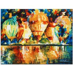 "Leonid Afremov (1955-2019) ""Balloon Show"" Limited Edition Giclee on Canvas, Numbered and Signed. Thi"