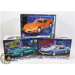SET OF 2 REVELL MOTOR CITY MUSCLE