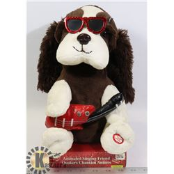 NEW ELVIS DOG ANIMATED PLUSH
