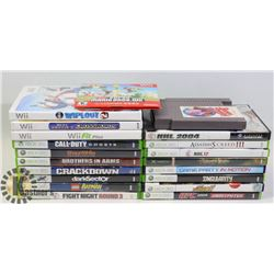 XBOX 360 ETC COLLECTION