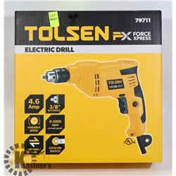 NEW TOLSEN ELECTRIC DRILL