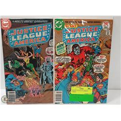 JUSTICE LEAGUE OF AMERICA COMICS