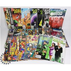 COMIC BOOKS - BOX INCLUDING GREEN ARROW; STAR TREK