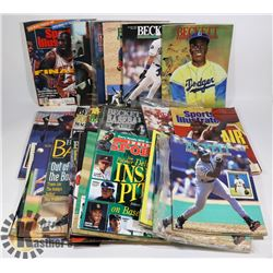 BOX OF MOSTLY BECKETT - JACKIE ROBINSON; MICHAEL