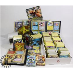 X-LARGE FLAT OF POKEMON CARDS