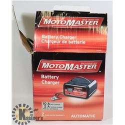 MOTORMASTER BATTERY CHARGER - WORKS