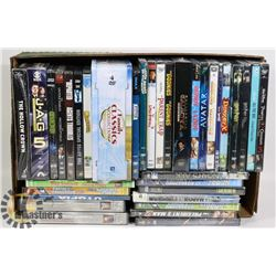 X-LARGE FLAT OF DVDS TIN SETS