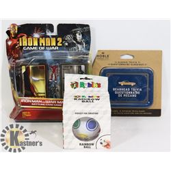 SEALED ITEMS IRON MAN 2 GAME