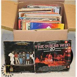ONE BOX OF RECORDS -