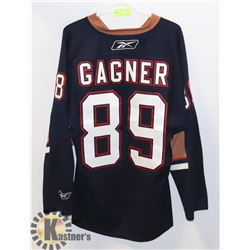 OILERS JERSEY #89 GAGNER
