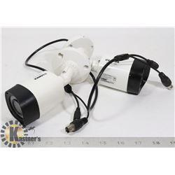 2 LOREX 1080P HD INDOOR/OUTDOOR BULLET