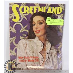1950 SCREENLAND HOLLYWOOD MAGAZINE