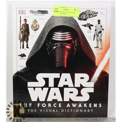 HARD COVER STAR WARS BOOK FORCE AWAKENS