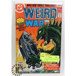 WEIRD WAR TALES # 68 1ST MILLER AT DC COMIC