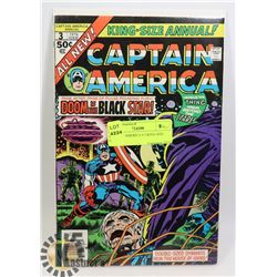 CAPTAIN AMERICA # 3 KING SIZE COMIC