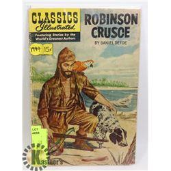 CLASSIC ILL. # 10 CRUSOE 1944 COMIC