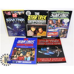 BUNDLE OF STAR TREK COLLECTIBLE BOOKS