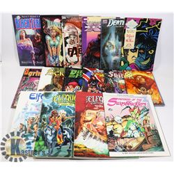 BUNDLE OF GRAPHIC COMIC NOVELS