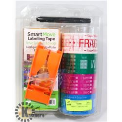 SMART MOVE LABELING TAPE