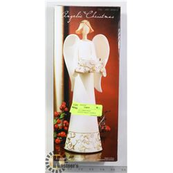 """ANGELIC CHRISTMAS"" DECORATIVE NAGEL CANDLE"