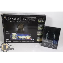 NEW GAME OF THRONES 4D PUZZLE