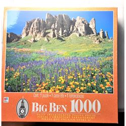 12)  FACTORY SEALED 1000 PCE MOUNTAIN