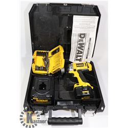 DEWALT XRP BATTERY POWERED DRILL IN CARRYING CASE