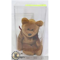 TY TEDDY NEW FACE BROWN