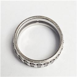 SILVER  RING (~SIZE 10.25)