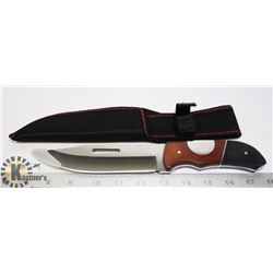 NEW STAINLESS STEEL FULL TANG HUNTING KNIFE