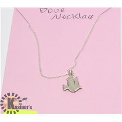 STERLING SILVER .925 DOGEARED BRAND DOVE NECKLACE