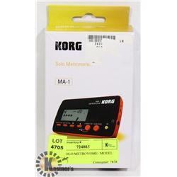 KORG SOLO METRONOME- MODEL MA-1