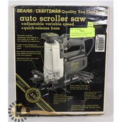 CRAFTSMAN AUTO SCROLL SAW- VARIABLE SPEED- IN BOX