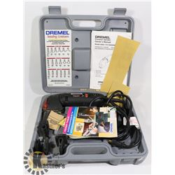 DREMEL CONTOUR SANDER WITH ACCESSORIES- IN BOX