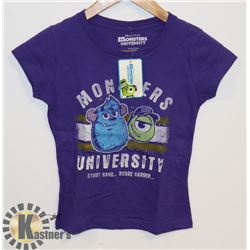 YOUTH GIRLS MONSTERS INC T-SHIRT M