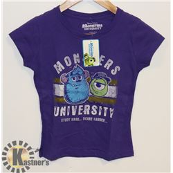 YOUTH GIRLS MONSTERS INC T-SHIRT L
