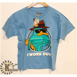 YOUTH PHINEAS AND FERB T-SHIRT M