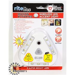 NEW LED MOTION ACTIVATED WIRELESS ACCENT LIGHT