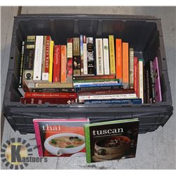 TRADEPAPER BOOKS- ASSORTED- LARGE TOTE LOT