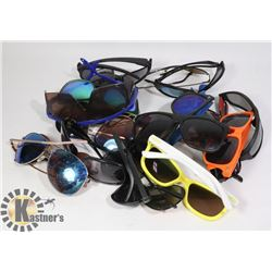 BAG OF 18 PAIRS OF SUNGLASSES