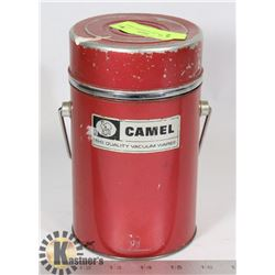 VINTAGE 1960'S THERMOS CAMEL