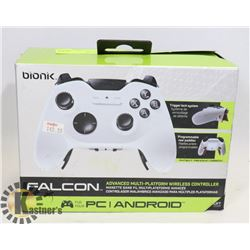 BIONIK FALCON WIRELESS CONTROLLER - PC / ANDROID