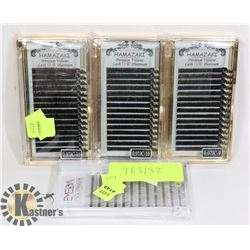 4 PACKS OF EYELASHES