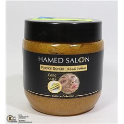HAMED SALON FACIAL SCRUB GOLD 500ML