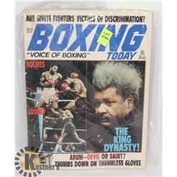 BOXING TODAY JULY 1982